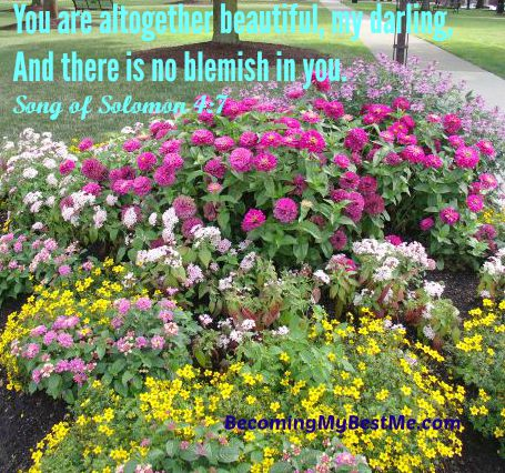 We Are All Flowers in God\'s Garden – Becoming My Best Me