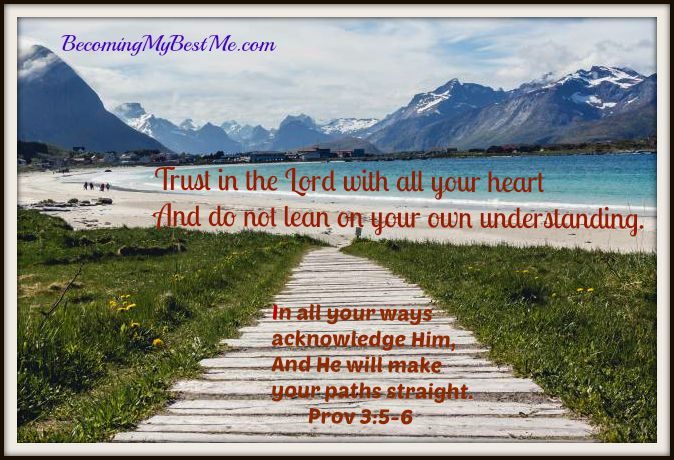 Trust in the Lord   Prov 3  5, 6